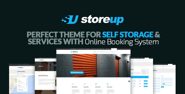 Storeup – Self Storage Business WordPress Theme