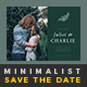 Minimalist Save The Date Postcard | Volume 6 - GraphicRiver Item for Sale