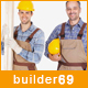 builder69 - Construction, Building WordPress theme Nulled