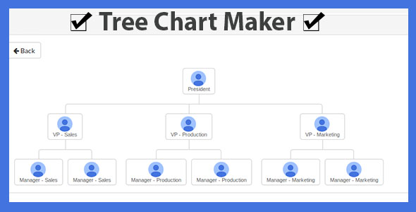 Tree Chart Maker - CodeCanyon Item for Sale