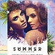 Summer Explosion Party DJ Flyer - GraphicRiver Item for Sale