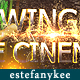 Glowing lines Particle Cinema Trailer  - VideoHive Item for Sale
