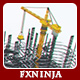 Construction Company Logo Buildup - VideoHive Item for Sale