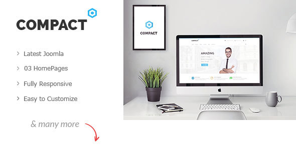 Compact – Corporate Multi-Purpose Joomla Template