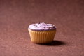 Vanilla muffin with raspberry cream topping and sweet flavours - PhotoDune Item for Sale