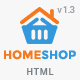 Home Shop - Retail HTML5 & CSS3 Template Nulled