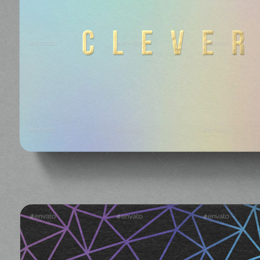 Photorealistic business card mockup round corners by clevery photorealistic business card mockup round corners magicingreecefo Images