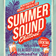 Summer Sound Poster/Flyer - GraphicRiver Item for Sale