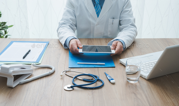 Healthcare and technology - Stock Photo - Images