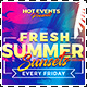 Fresh Summer Events Flyer Template - GraphicRiver Item for Sale