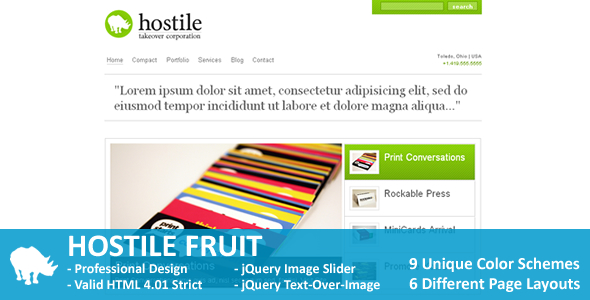 Free Download Hostile Fruit Nulled Latest Version