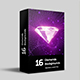 16 Diamonds Backgrounds - VideoHive Item for Sale