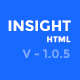 Financial Advisor, Consulting, Business Website Template - Insight Nulled