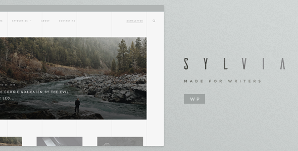 Sylvia – WordPress Blog Theme