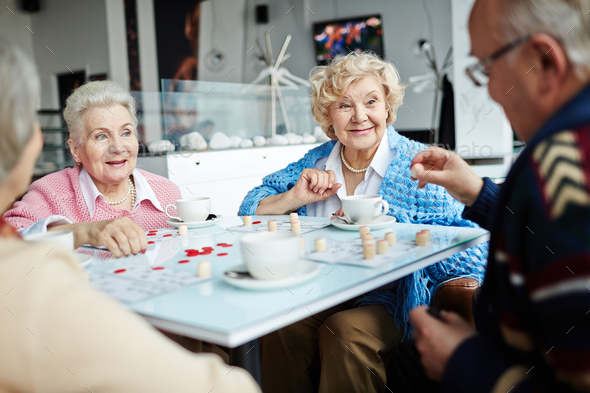 Leisure in cafe - Stock Photo - Images