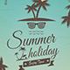 Vintage Summer Party Flyer - GraphicRiver Item for Sale