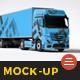 Truck Mock Up - GraphicRiver Item for Sale
