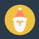 100 Flat Christmas Vector Icons - GraphicRiver Item for Sale