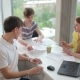 The Young People Discussing In The Office - VideoHive Item for Sale