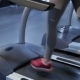 Woman Listens The Music On The Treadmill At The Fitness Centre - VideoHive Item for Sale