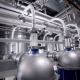 The System Pipe, Pipelines With Valves At Modern Plant, Factory Indoor. - VideoHive Item for Sale