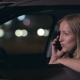 Attractive Blonde Woman Talking On Phone In Car - VideoHive Item for Sale