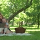 Young Mother, Read a Book To Her Tho Children - VideoHive Item for Sale