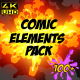 Comic Element Pack - VideoHive Item for Sale