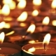 Candle Is Slowly Moving From Left To Right - VideoHive Item for Sale