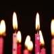 Lot Of Candles For Birthday Rotate And Blow Out. - VideoHive Item for Sale