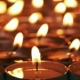 Candle Is Slowly Moving From Right To Left - VideoHive Item for Sale