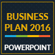Business Plan 2016 Powerpoint Template - GraphicRiver Item for Sale