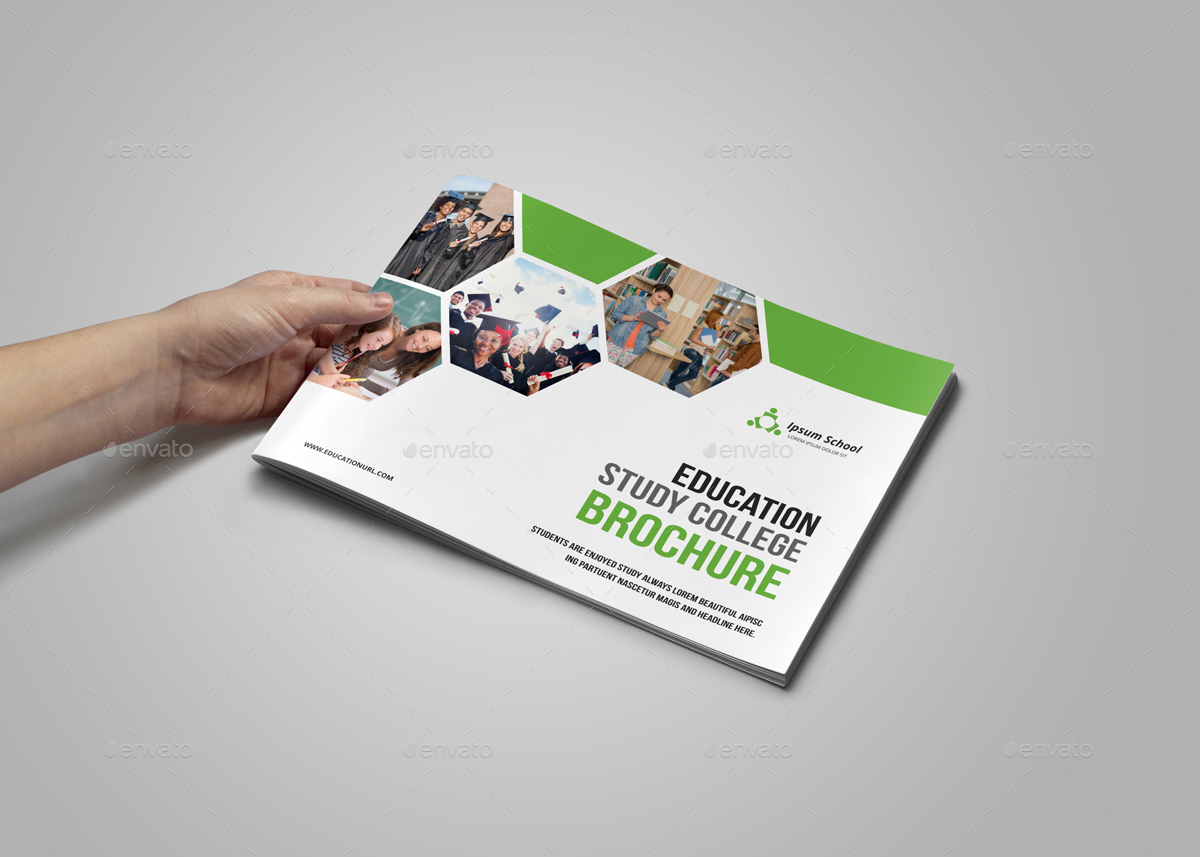 Higher Education Brochure Template Design and Layout ... |Brochure Design Education