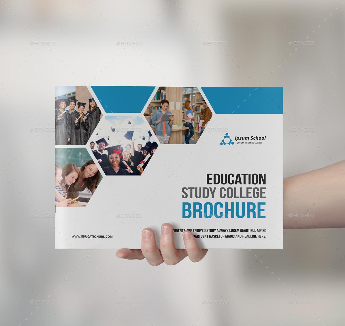 educational brochure design