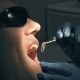 Middle Aged Man Gets Dental Mouth Teeth Treatment - VideoHive Item for Sale