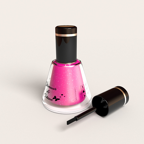 HQ Nail Polish - 3DOcean Item for Sale