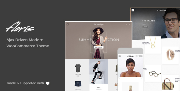 Floris – Minimalist AJAX WooCommerce Theme