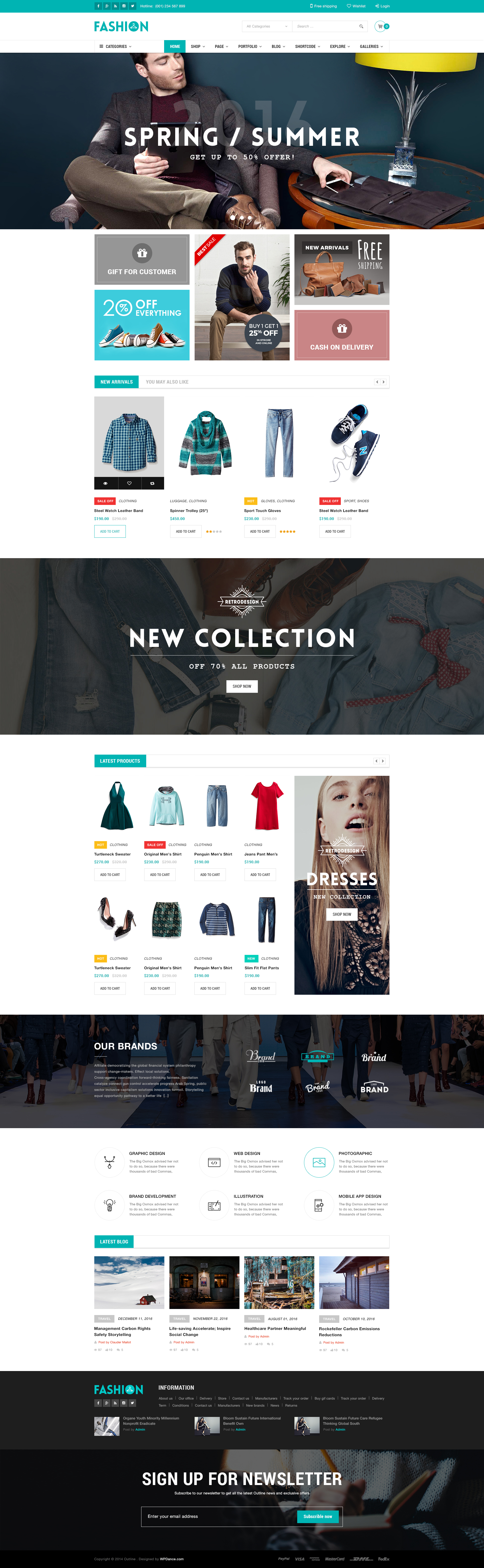 WDOutLine | WordPress WooCommerce Responsive Supermarket Theme by ...