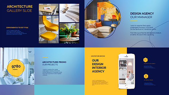 architecture agency presentationmotion-template | videohive, Presentation templates