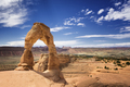 Delicate arch sand stone at Arches National Park, Utah, USA - PhotoDune Item for Sale