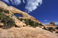 natural sandstone Wilson Arch arch in Moab, southeastern Utah - PhotoDune Item for Sale