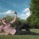 Makes Selfie In a Public Park: Smart Phone - VideoHive Item for Sale
