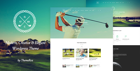 N7 | Golf Club, Sports & Events Theme