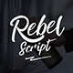 Rebel Script Brush Font - GraphicRiver Item for Sale
