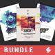 Creative Sound vol.2 - Party Flyer / Poster Templates Bundle - GraphicRiver Item for Sale