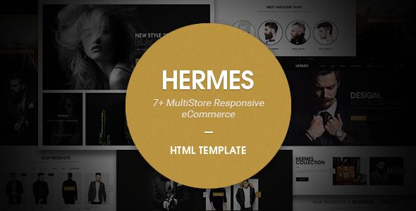 Hermes – Multi Store Responsive HTML Template
