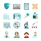 Vaccination Flat Icons Set - GraphicRiver Item for Sale