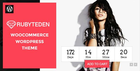 RubyTeden – Responsive WooCommerce Shopfront Theme