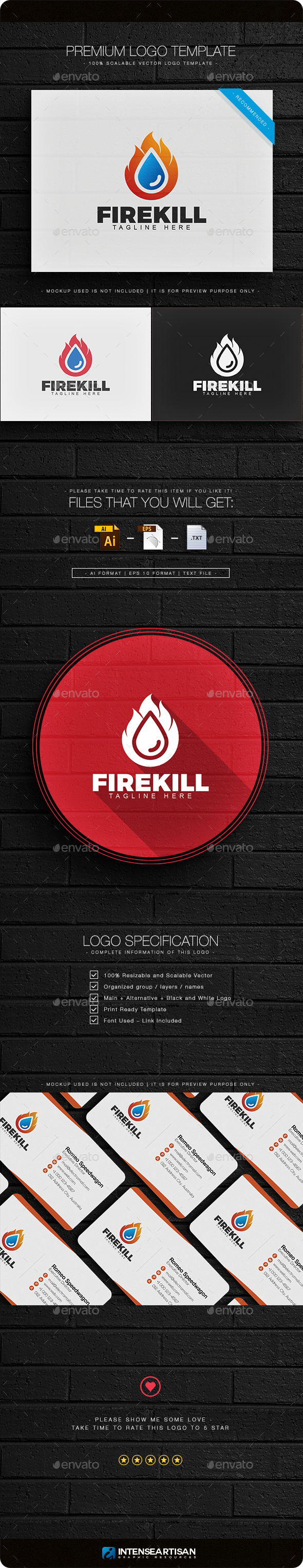 Fire Kill Logo