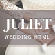 Juliet - Ultimate Ceremony & Wedding HTML5 template